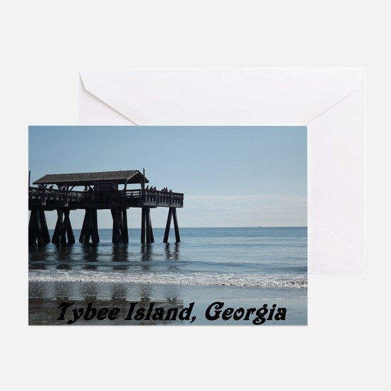 Tybee Island Georgia 17 Greeting Card