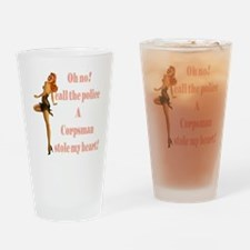 oh no corpsman Drinking Glass