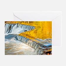 Autumn at Bond Fall, U.P., MI Greeting Cards (Pk o