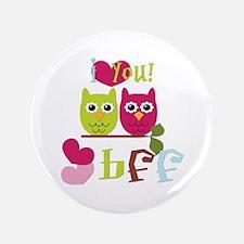 """BFF Love 3.5"""" Button"""