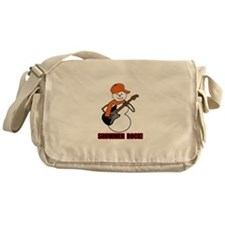 Snowmen ROCK! Messenger Bag