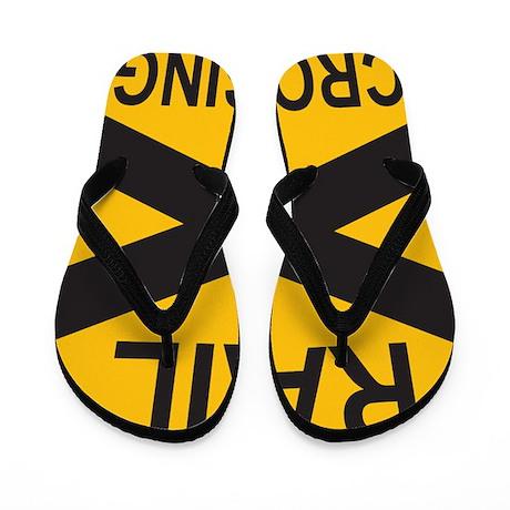 Rail Crossing Flip Flops