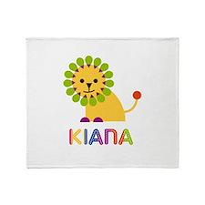 Kiana the Lion Throw Blanket