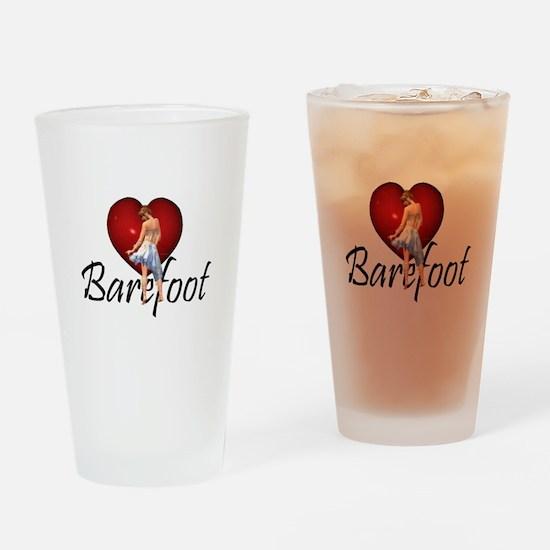 Barefoot Dance Drinking Glass