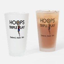 TOP Hoops Triple Play Drinking Glass