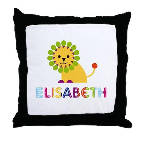 Elisabeth the Lion Throw Pillow