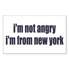 I'm from New York Decal