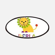 Perla the Lion Patches