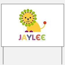 Jaylee the Lion Yard Sign
