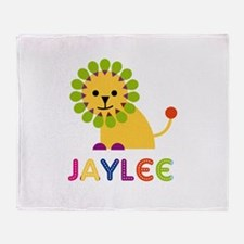 Jaylee the Lion Throw Blanket