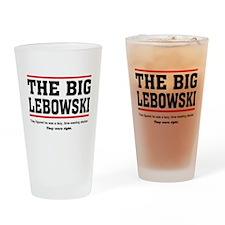 'The Big Lebowski' Drinking Glass