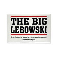 'The Big Lebowski' Rectangle Magnet