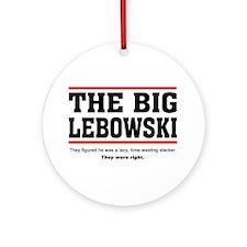 'The Big Lebowski' Ornament (Round)