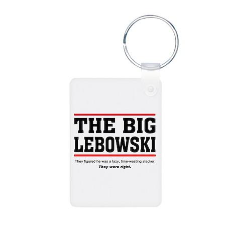 'The Big Lebowski' Aluminum Photo Keychain