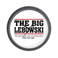 'The Big Lebowski' Wall Clock