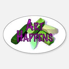 Art Happens (Pastels) Decal