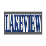 Lakeview 22x14 Wall Peel