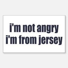 I'm from Jersey Decal