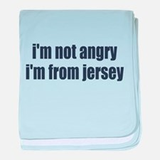 I'm from Jersey baby blanket