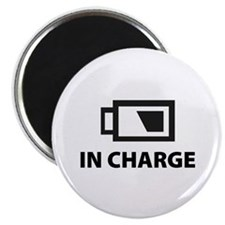 "IN CHARGE 2.25"" Magnet (10 pack)"