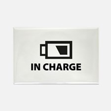 IN CHARGE Rectangle Magnet (100 pack)