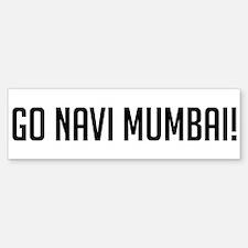 Go Navi Mumbai! Bumper Bumper Bumper Sticker