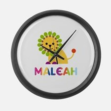Maleah the Lion Large Wall Clock