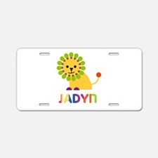 Jadyn the Lion Aluminum License Plate