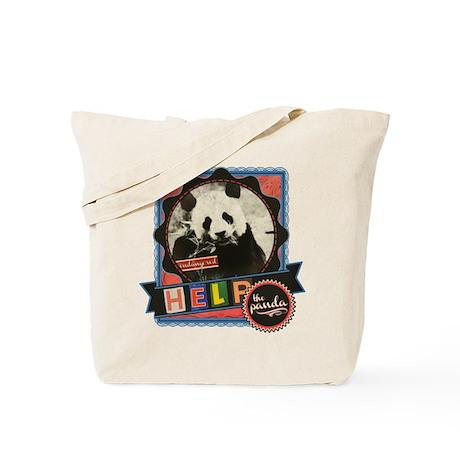 Help the Endangered Pandas Tote Bag