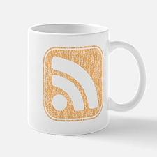 RSS Icon Weathered Mug