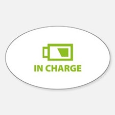 IN CHARGE Decal