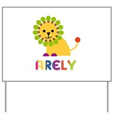 Arely the Lion Yard Sign