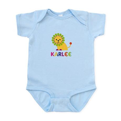 Karlee the Lion Infant Bodysuit