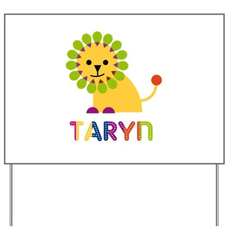 Taryn the Lion Yard Sign