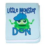 Little Monster Don baby blanket