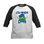 Little Monster Don Kids Baseball Jersey