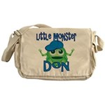Little Monster Don Messenger Bag