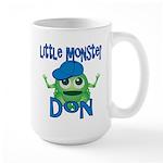 Little Monster Don Large Mug