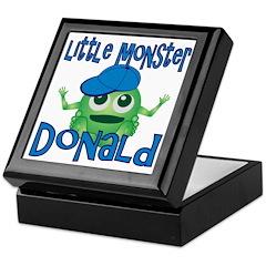 Little Monster Donald Keepsake Box