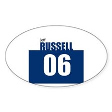 Russell 06 Oval Decal