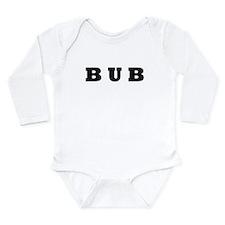 Bub Long Sleeve Infant Bodysuit