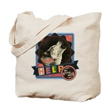 Help the Endangered Gray Wolf Tote Bag