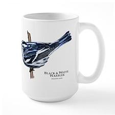 Black & White Warbler Mug