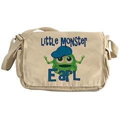 Little Monster Earl Messenger Bag