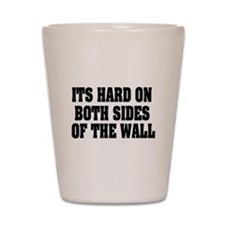 Both Sides Of Wall Shot Glass