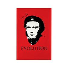 Red Darwin. Viva! Rectangle Magnet