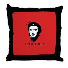 Red Darwin. Viva! Throw Pillow