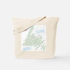 Newfoundland Towns Tote Bag