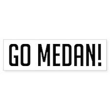 Go Medan! Bumper Bumper Sticker