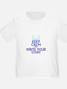 Keep Calm Write Story T